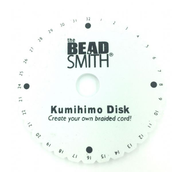 Beadsmith kumihimo Disk 15cm / 6 inch by bead smith kd001